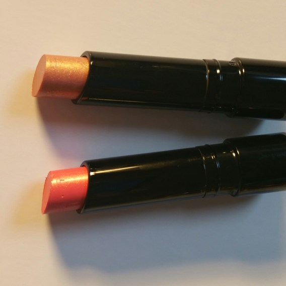 Bobbi Brown Sheer Lip Colors for Summer 2016 - Pink Gold and Peach Sorbet