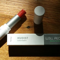 August Means Back to School, and Back to School Means Back to Swatching! W3LL People Nudist ColorBalm No. 1 (Coral) Review and Swatches