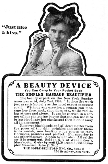 Cosmetics and Skin: Vacuum Suction