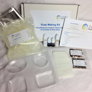 Soap Making Kit - Melt & Pour - Coconut & Almond