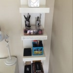 Makeup Storage And Organization Ikea Lack Shelf Unit Malm Dressing Table Cosmeticsobsession