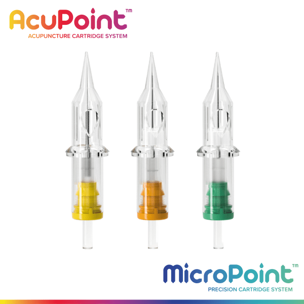 Acupoint and Micropoint Needle Cartridges