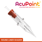 Round Liner Shader Acupuncture PMU Needle Cartridge