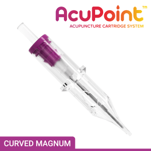 AcuPoint Curved Magnum Acupuncture PMU Needle Cartridge