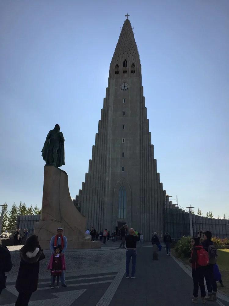 Iceland Reykjavik Hallgrímskirkja