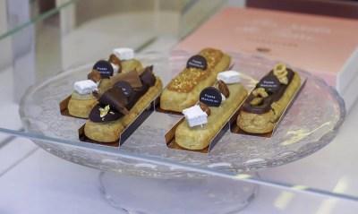 Eclair eclairs pastry bakery Pierre Marcolini Brussels sweets эклер эклеры пирожные