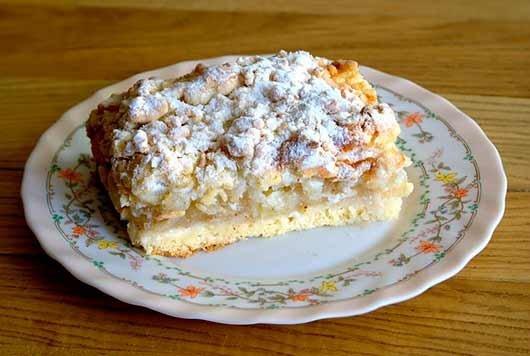 Пирог с яблоками из слоеного теста — 8 пошаговых рецептов в духовке