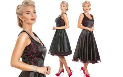 1950s Swing Dress a Retro Vintage Dress that will fit only you!
