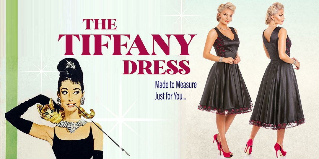 The Tiffany Dress from Cosmic Girl Clothing