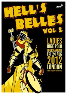 Hell's Belles 2012 Illustration by Adrienne Hawkes