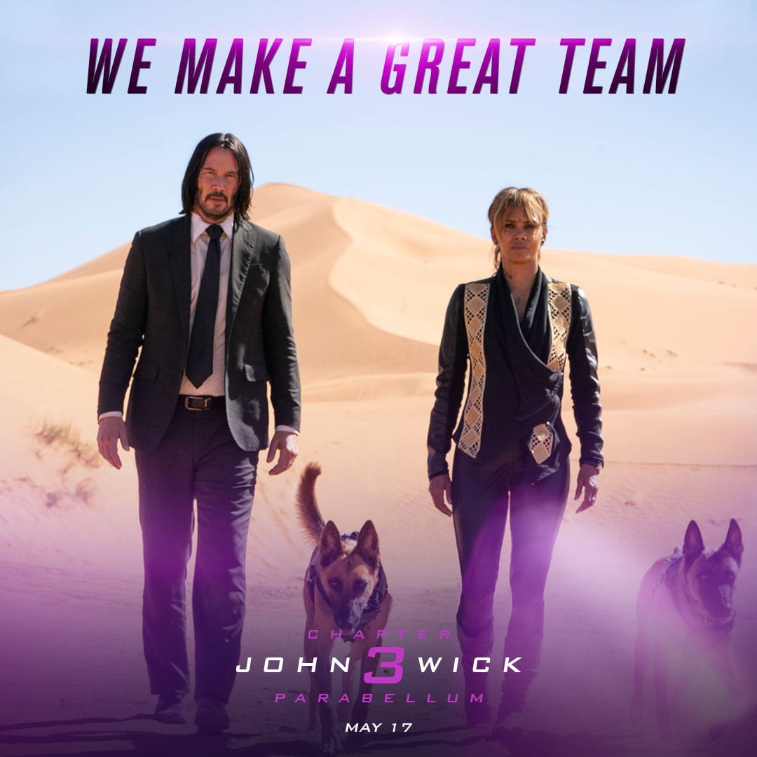 Happy Valentines Day From John Wick 3  Cosmic Book News