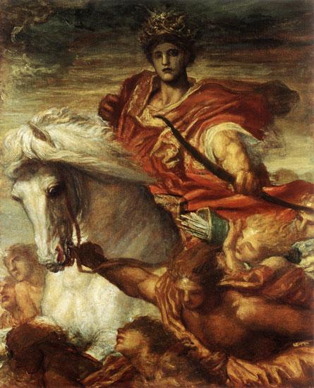 Rider-White-Horse-L