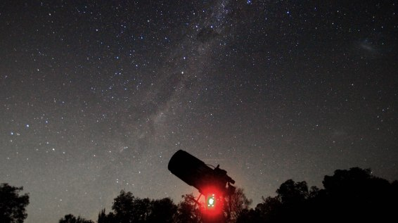 2012-03-30 Milky Way, Southern Cross & Magellanic Clouds