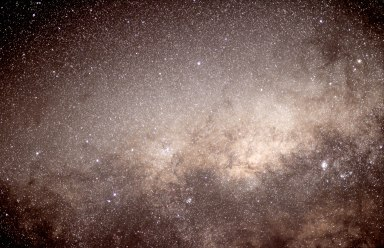 2012-10-07-M6, M7 & M8 in Scorpius Sagittarius 13x8sec f1.4 50 mm ISO 1600