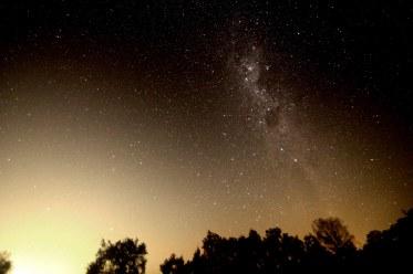 2013-03-13: Milky Way - 1 x 2min,10mm, f/3.5, ISO 3200.