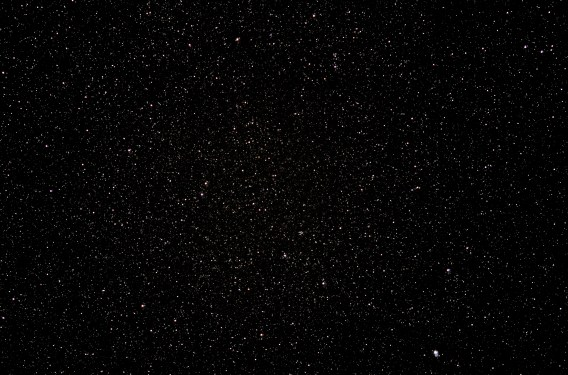 2013-03-13: Monoceros - 35 sec, 135mm, f/2, ISO3200.