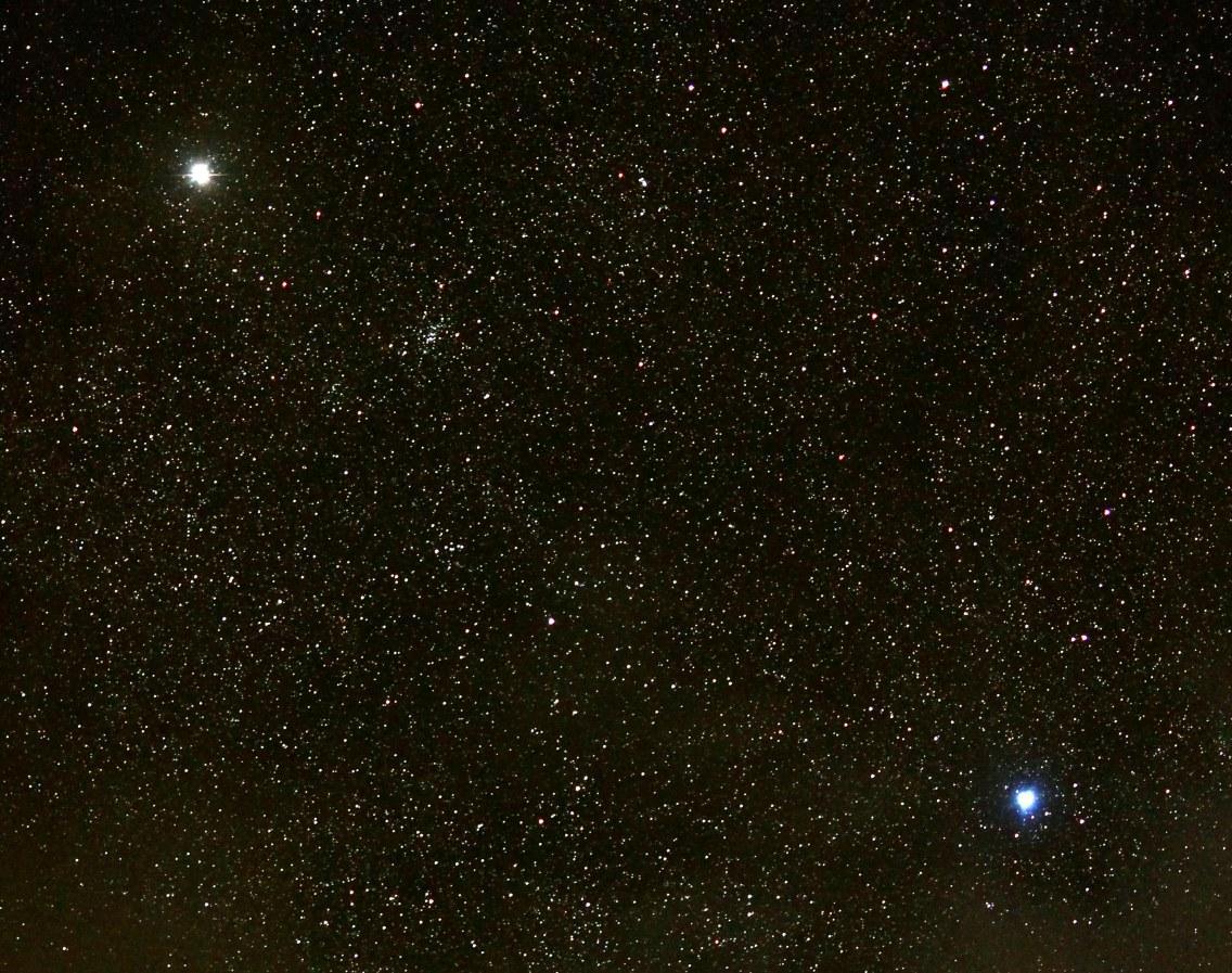 2013-05-05: Star region between The Pointers (Alpha and Beta Cetauri) in Centaurus