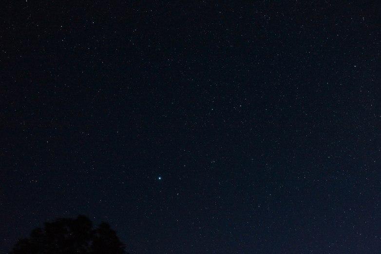 2013-08-10: Lyra region with Vega.