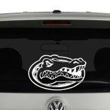 Florida Gators Text Logo Vinyl Decal