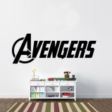 Avengers Full Logo Vinyl Wall Decal