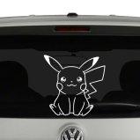Pikachu Pokemon Vinyl Decal Sticker