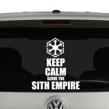 Keep Calm Vinyl Decals