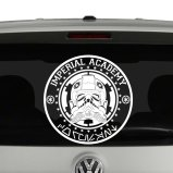 Imperial Academy Coruscant Star Wars Inspired Vinyl Decal Sticker