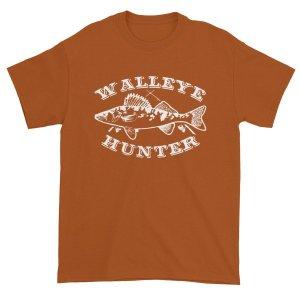 Walleye Hunter Fishing Lovers T-Shirt