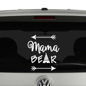 Mama Bear Arrows Vinyl Decal Sticker