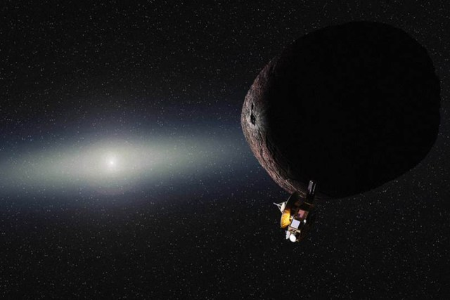 Image: New Horizons and KBO
