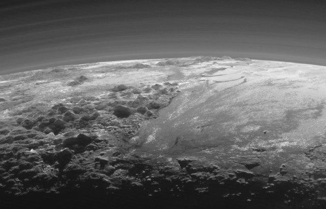 Image: Pluto's edge