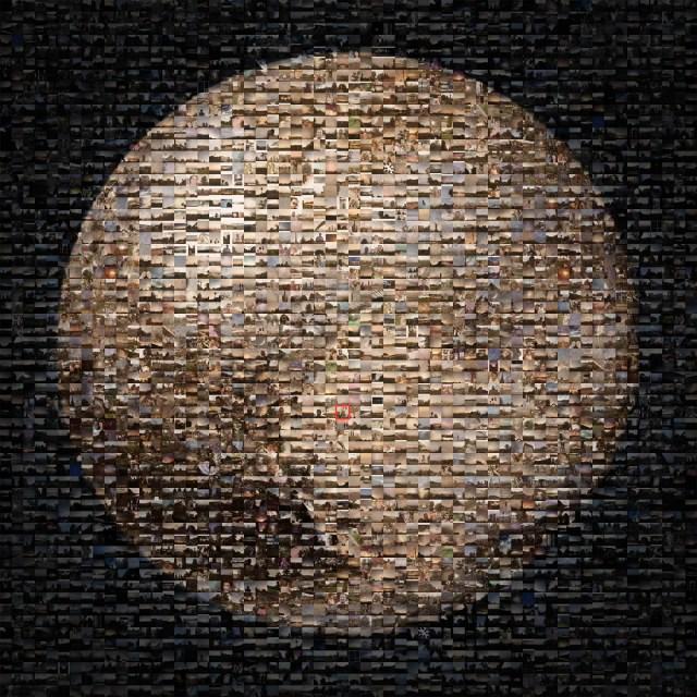 """Pluto Time"" mosaic"