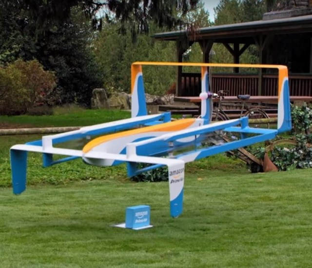 Image: Amazon drone delivery