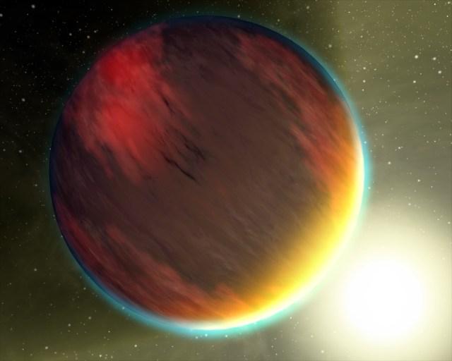 Image: Hot Jupiter planet