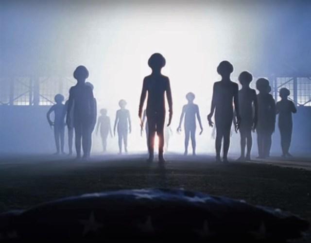 Image: Alien visitation