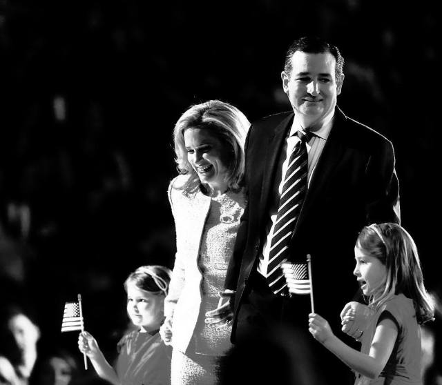 Image: Ted Cruz and family