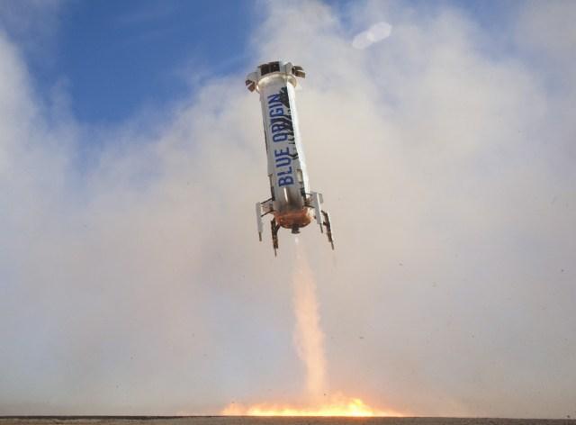 Image: New Shepard landing