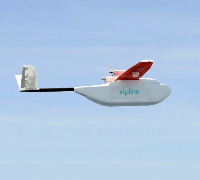 Image: Zip drone plane
