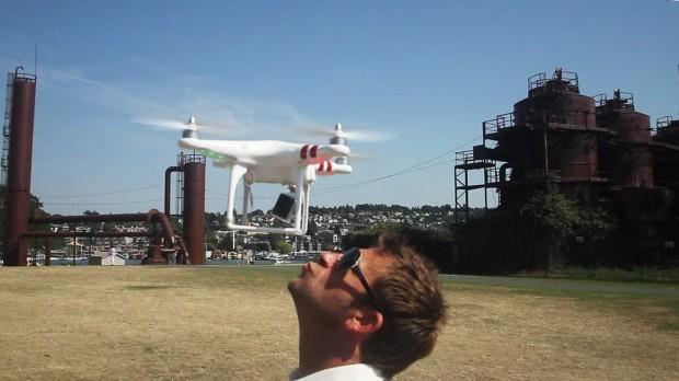 Image: Drone overhead