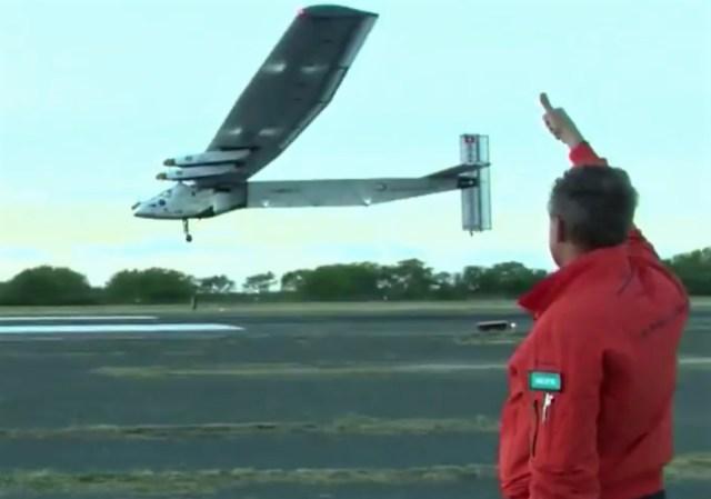Image: Solar Impulse departure