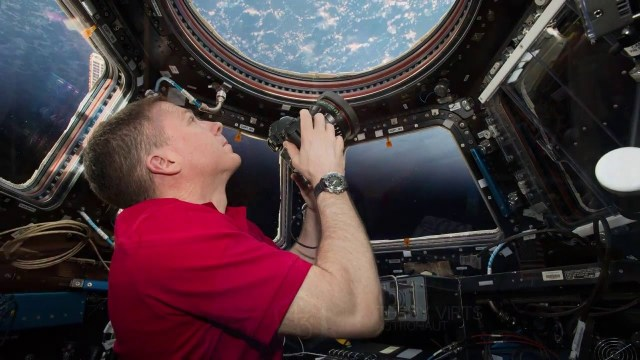 Image: Terry Virts on ISS