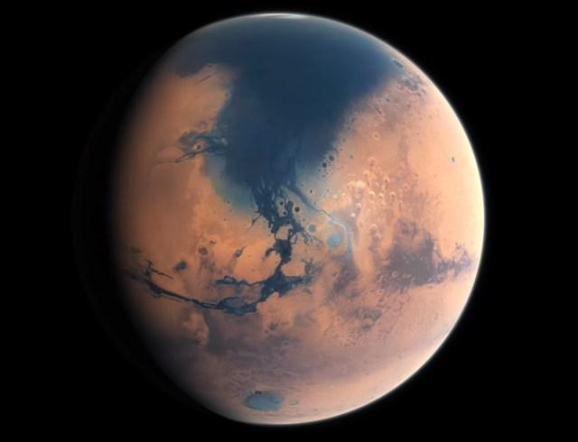 Image: Ancient Mars