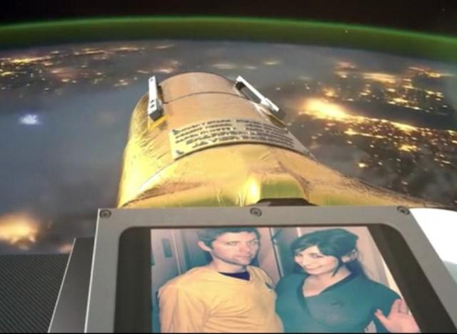Image: Space selfie