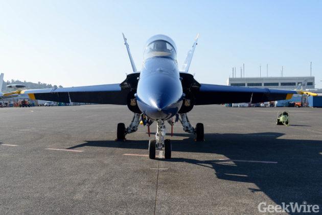 Image: Blue Angels jet