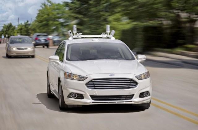 Image: Ford autonomous car