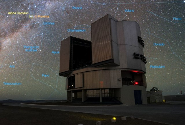 VLT and Alpha Centauri