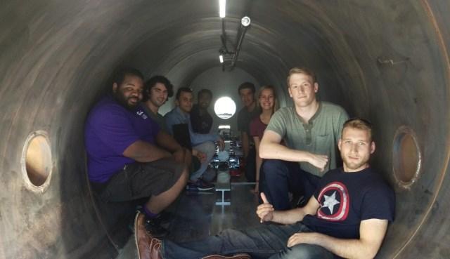 UW Hyperloop team
