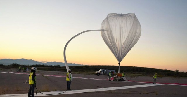 Image: Balloon launch