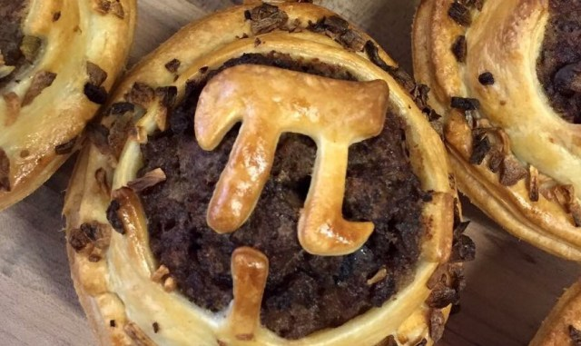 Pi Day pie