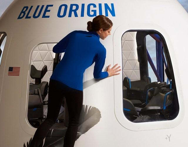 Blue Origin New Shepard spaceship